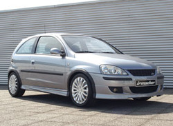 Обвес на Opel Corsa C с 2004 г.в. кроме версий Sport/ GSI от компании Irmscher