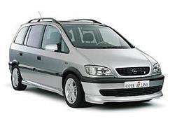 Обвес на Opel Zafira A кроме версии OPC от компании Irmscher