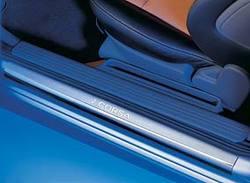 Накладки на пороги Opel Corsa C из высококачественной стали