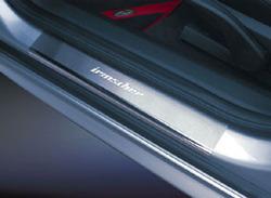 Накладки на пороги Opel Astra H передние