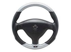 Руль для Opel Astra G, Opel Zafira A в стиле Alu-Look с кожаными вставками