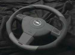 Руль для Opel Astra H, Opel Vectra C, Opel Zafira B в стиле Granit-Look с кожей