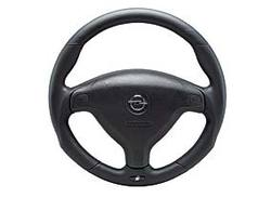 Руль для Opel Astra G, Opel Zafira A в черной коже