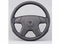 Руль для Opel Vectra C кожаный