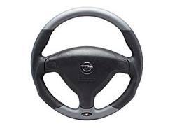 Руль для Opel Astra G, Opel Zafira A в стиле Metall-Look с кожаными вставками