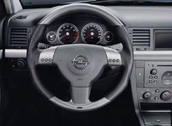 Руль для Opel Vectra C в стиле Platin-Look с кожаными вставками