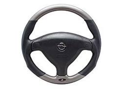 Руль для Opel Astra G, Opel Zafira A в стиле Titan-Look с кожаными вставками