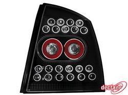 Фонари задние Opel Astra G черные LED (светодиодные)