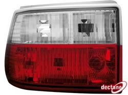Фонари задние Opel Astra F красные прозрачные