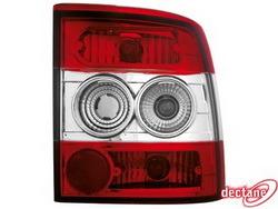 Фонари задние Opel Vectra A красные прозрачные