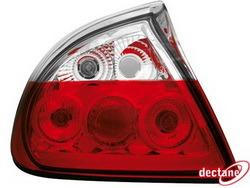 Фонари задние Opel Tigra красные прозрачные