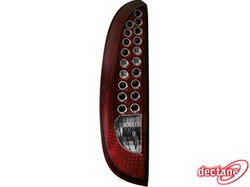 Фонари задние Opel Corsa C красные LED (светодиодные)