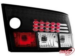 Фонари задние Opel Calibra черные LED (светодиодные)