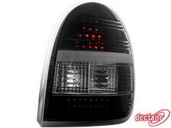 Фонари задние Opel Corsa B дымчатого цвета LED (светодиодные)