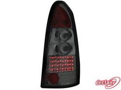 Фонари задние Opel Astra G дымчатого цвета LED (светодиодные)
