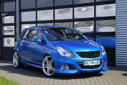 Обвес на Opel Corsa D OPC от компании Steinmetz