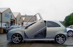 Ламбо двери для Opel Corsa C
