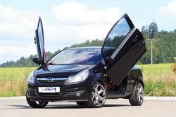 Ламбо двери для Opel Corsa D