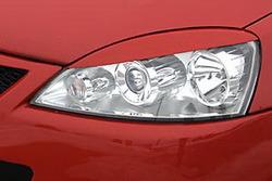 Реснички на фары Opel Corsa C в стиле GS/R