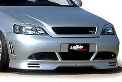 Бампер передний Opel Astra G в стиле GT/R2