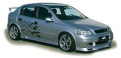 Обвес на Opel Astra G от компании Lumma в стиле GT/R