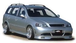 Обвес на Opel Astra G Универсал от компании Lumma в стиле GT/R2