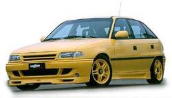Обвес на Opel Astra F от компании Lumma в стиле GT/R