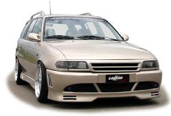 Обвес на Opel Astra F от компании Lumma в стиле GT/R2