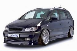 Обвес на Opel Zafira A от компании Mattig