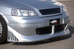 Бампер передний Opel Astra G в стиле STC