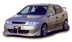 Обвес на Opel Astra G от компании Lumma в стиле STC