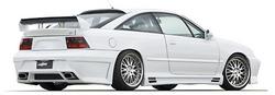 Обвес на Opel Calibra в стиле C360RS от компании Lumma