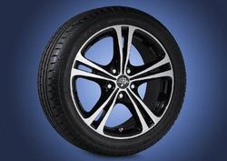 Диски литые R17 легкосплавные дизайн ST5 для Opel Astra H, Opel Corsa D, Opel Zafira B, Opel Zafira Tourer