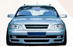 Накладка на бампер передний Opel Omega B