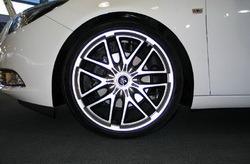 Шины летние Continental 245 / 35 R20 с литыми дисками Steinmetz в стиле ST7 9,0J x 20 для Opel Insignia