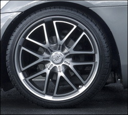 Шины летние Continental 245 / 35 R20 с литыми дисками Steinmetz в стиле ST7 9,0J x 20 для Opel GT