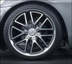 Шины летние Michelin 245 / 35 R20 с литыми дисками Steinmetz в стиле ST7 9,0J x 20 для Opel GT