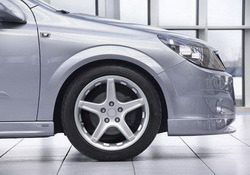 Шины летние Semperit 205 / 55 R16 с литыми дисками Steinmetz в стиле ST1 7,0J x 16 для Opel Astra H, Opel Zafira B