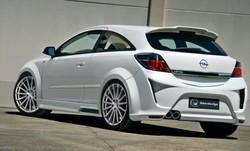 Расширители арок задних Opel Astra H GTC в стиле Viruss Wide