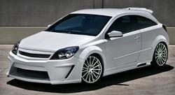 Обвес на Opel Astra H GTC в стиле Viruss Wide от компании Ibherdesign