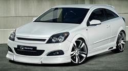 Обвес на Opel Astra H GTC в стиле Maxis от компании Ibherdesign