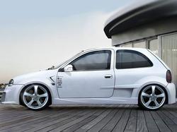 Расширители арок задних Opel Corsa B в стиле Optima Wide