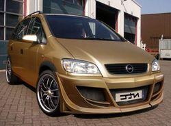 Бампер передний Opel Zafira A в стиле Limited Edition