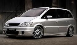 Пороги Opel Zafira A в стиле Prior Design