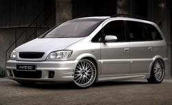 Обвес на Opel Zafira A в стиле F60 от компании NTC