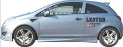 Пороги Opel Corsa D (дорестайлинг)