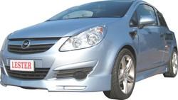 Обвес на Opel Corsa D 3-х дверная (дорестайлинг) от компании Lester