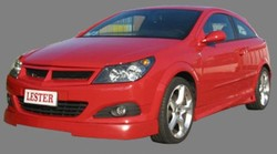 Обвес на Opel Astra H GTC (дорестайлинг) от компании Lester