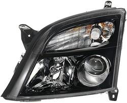 Фары передние Opel Signum, Opel Vectra С черные