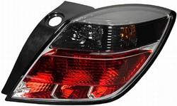 Фонари задние Opel Astra H серо-красные